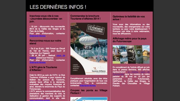 newsletter mai juin 2014