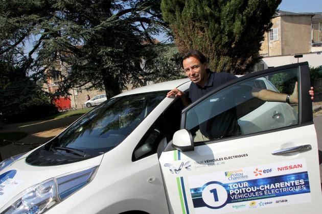 Jean-François Villeret est en route vers la mobilité durable.