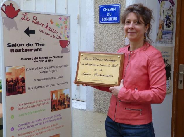 «Havre de paix» en plein cœur du centre-ville de Poitiers, Le Bonheur est dans le thé est le 11e restaurant de la Vienne a obtenir ce titre. «Ce titre est le fruit d'un travail d'équipe. Je remercie mon chef Louis Balin et ma serveuse polyvalente Tifanie Borel.»