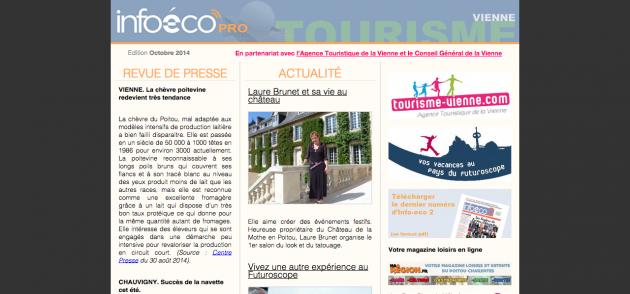 oct newsletter tourisme vienne