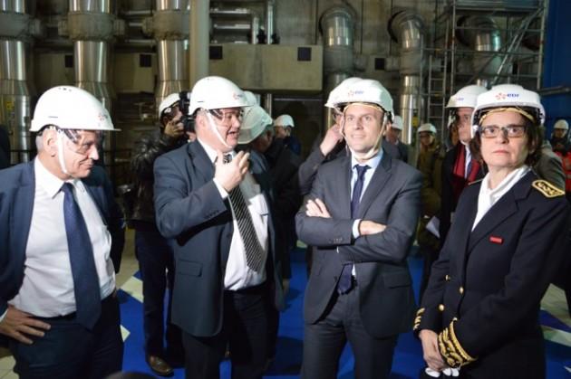 Macron-Une