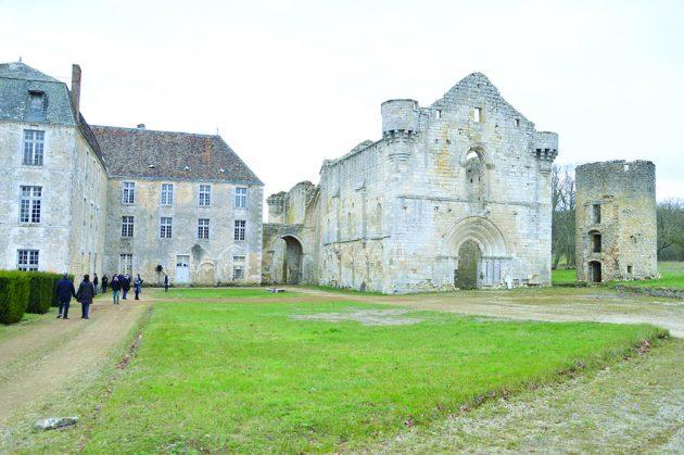 abbaye réau