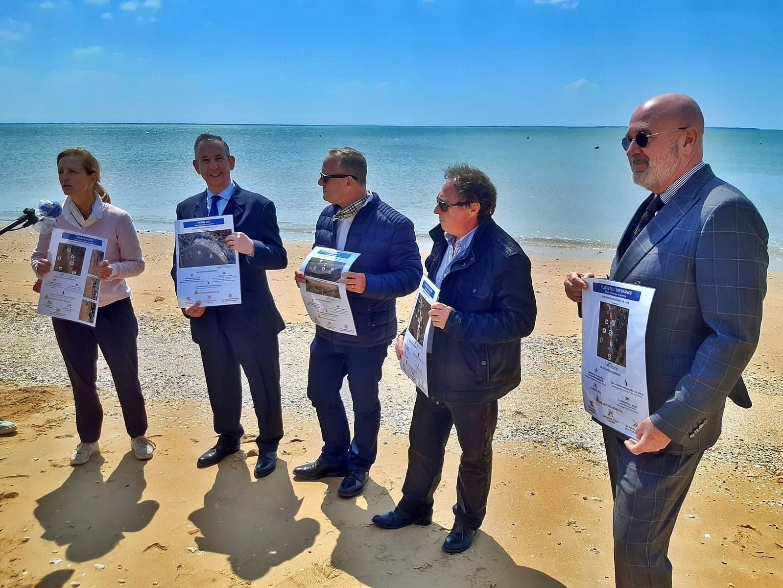 réouverture plages charente-maritime