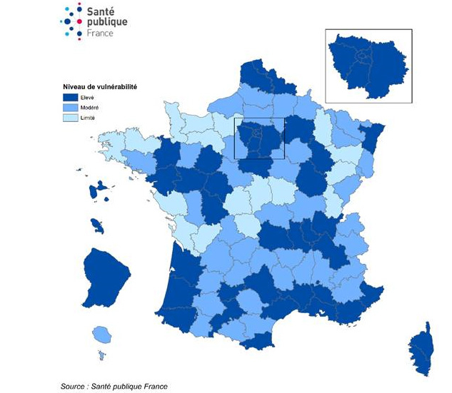 Covid 19 En Nouvelle Aquitaine 9 Departements En Situation De Vulnerabilite Moderee Ou Elevee Info Eco