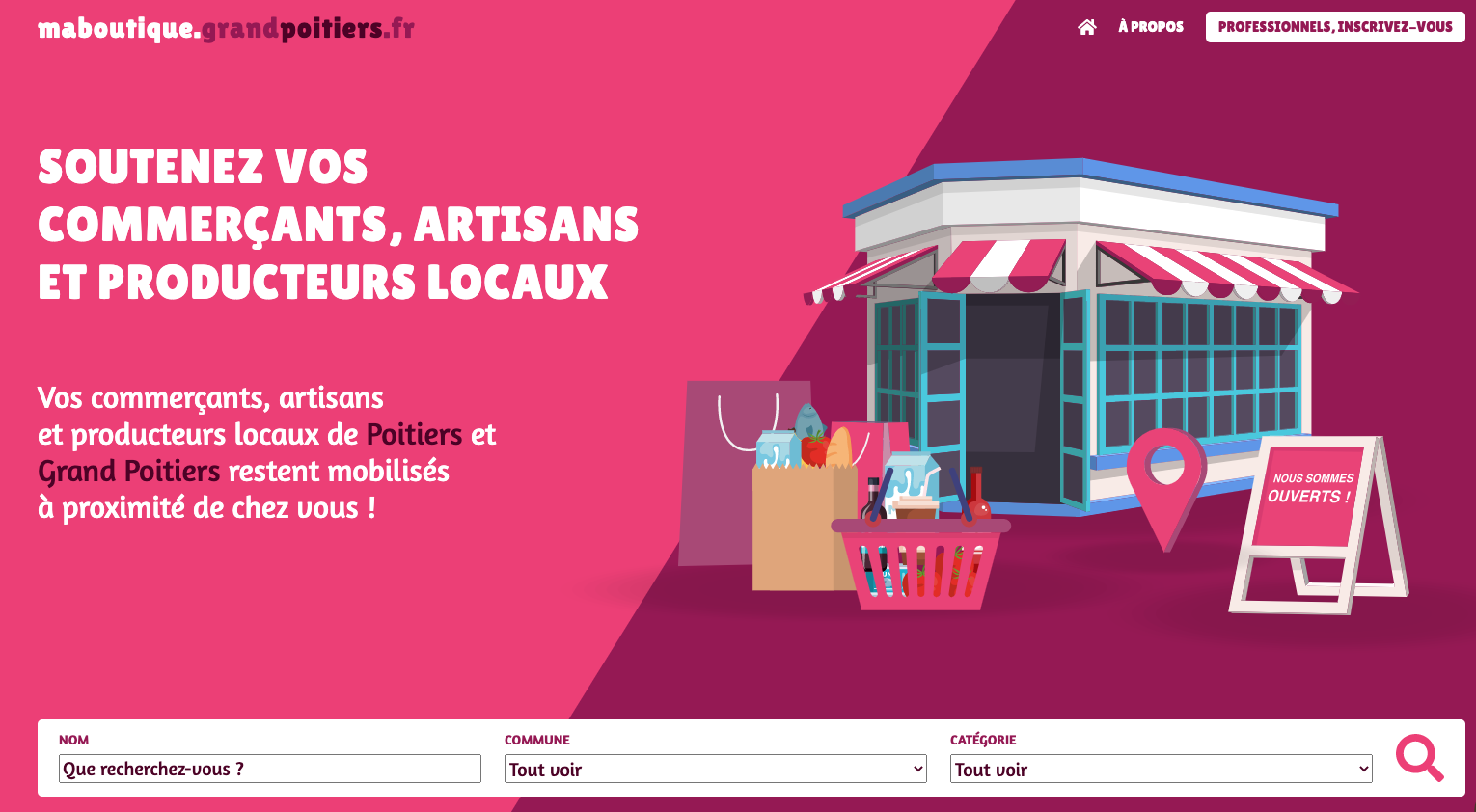 commerce grand poitiers